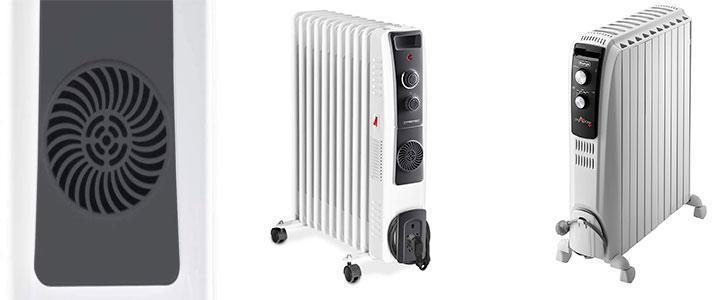 Radiador de aceite barato con ventilador, oferta radiador con electroventilador